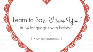 Gift Your Partner the Language of Love (+Giveaway)