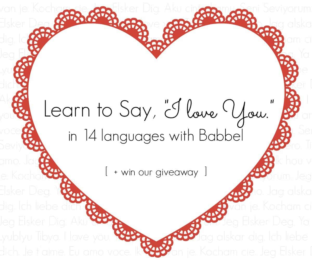 Babbel Language Love