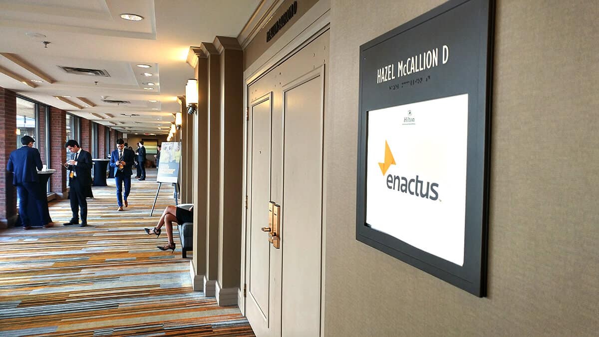 Enactus Capital One Regional Exposition Hall