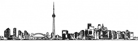 Toronto Skyline - Do Not Use For Anything