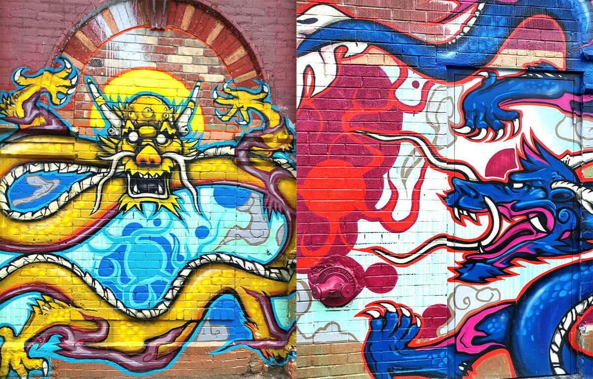 Graffiti Art Kensington Market Spadina Toronto