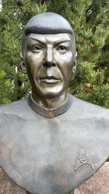 Vulcan Tourism and Star Trek Centre Mr Spock bust