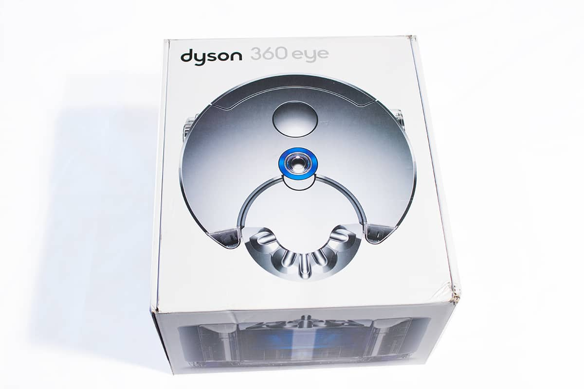 unboxing dyson 360 eye review