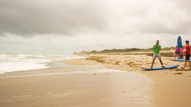 Sandy Beach and Surf Crowne Plaza Beach Oceanfront MLB Florida Feature