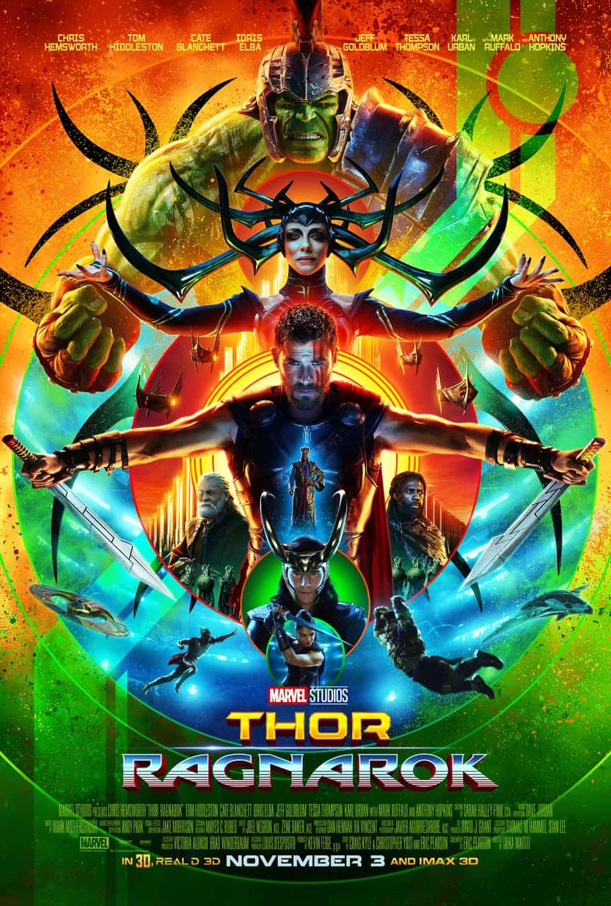 Thor Ragnarok Movie Premiere November 2017