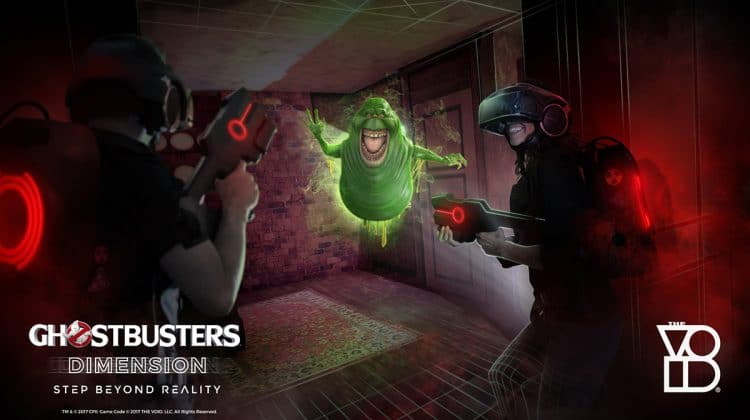 Ghostbusters Slimer VR Game THE VOID at The Rec Room Toronto