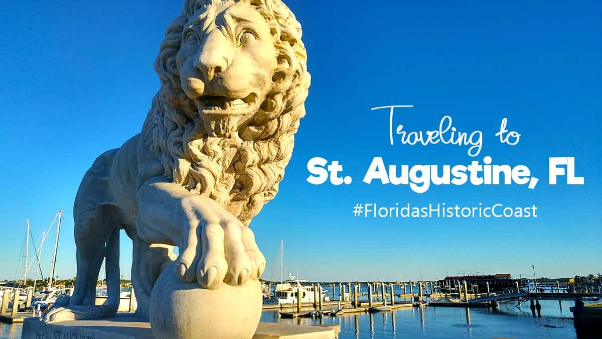 Travel to St Augustine, Florida's Historic Coast