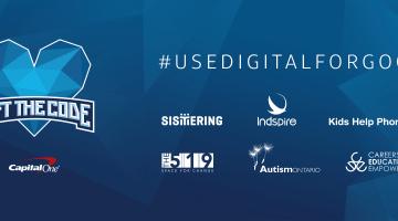 #UseDigitalForGood by Joining Gift the Code November 3 – 5, 2017