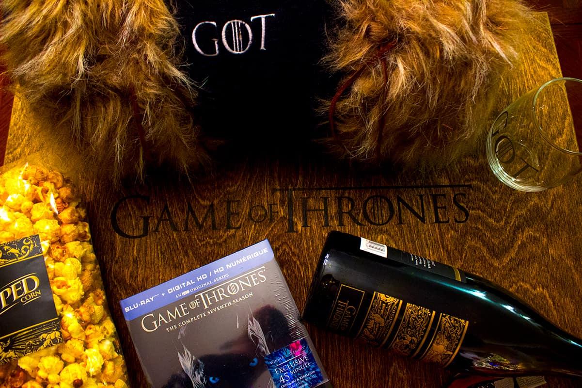 HBO Game of Thrones Season 7 Survival Kit