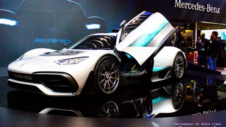 Mercedes-Benz AMG Project ONE F1 car for the road
