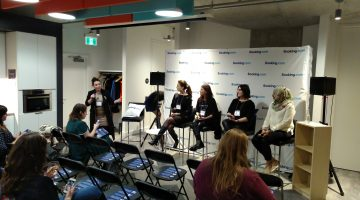 Booking.com Panel #BookingFEMpowers Womens Day