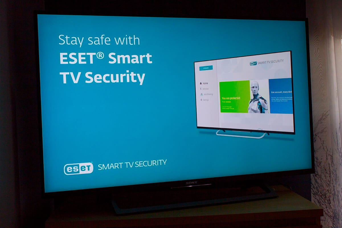 ESET Smart Android TV Antivirus Protection Experience Safer Technology