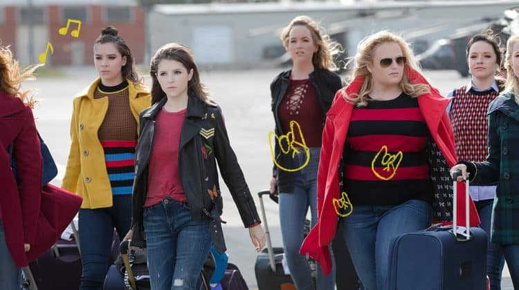 Pitch Perfect 3: a cappella band back together blu-ray
