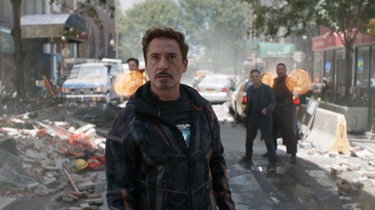 Iron Man Marvel Avengers Infinity War Disney Studios