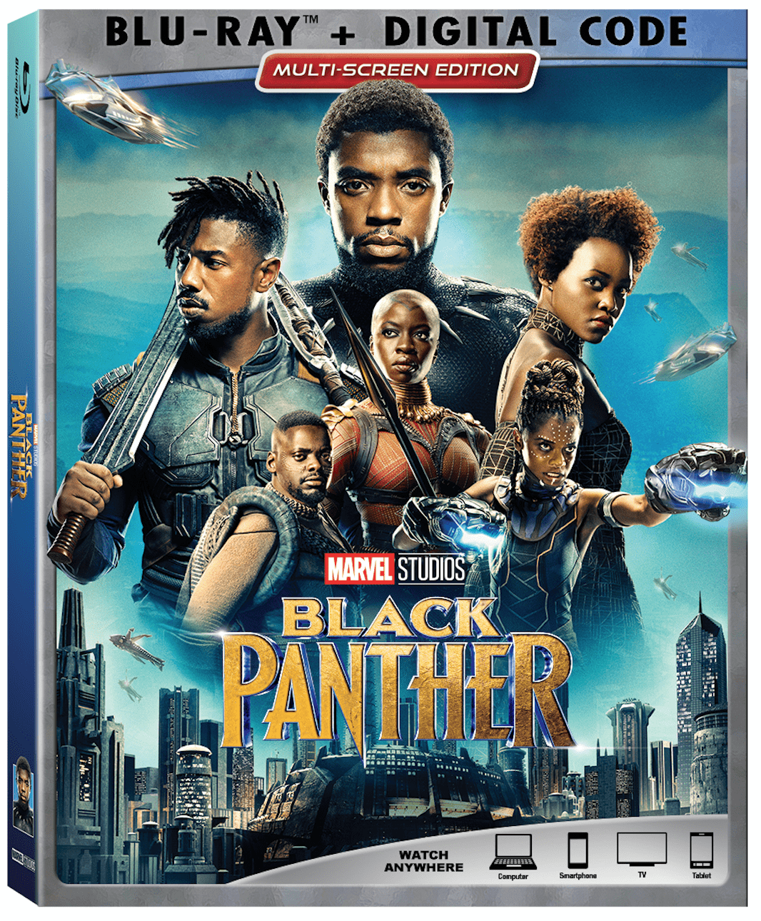 Marvel Black Panther Blu Ray DVD Release 2018