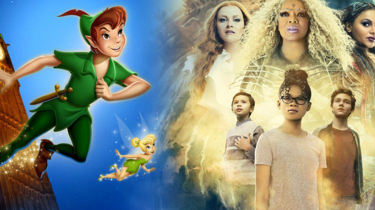 A Wrinkle in Time DVD Blu-Ray Giveaway feat Peter Pan