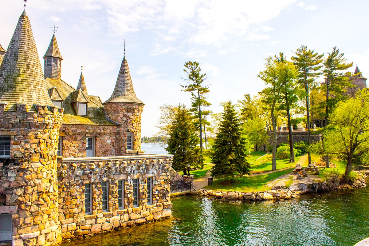 Boldt Castle Power House 1000 Islands Canada USA