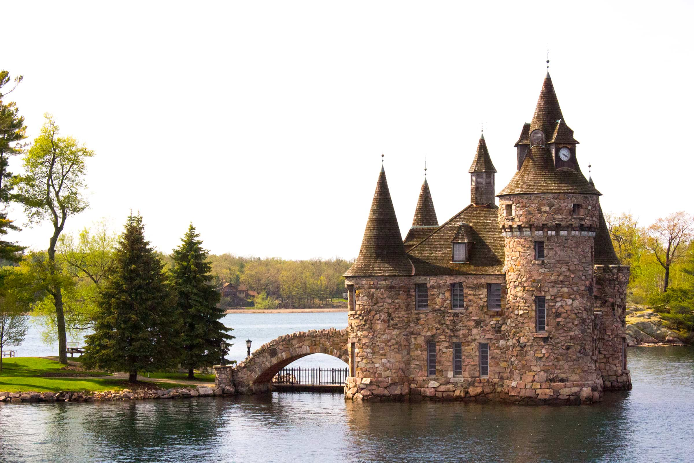 Boldt Castle Power House Fantasy Architecture