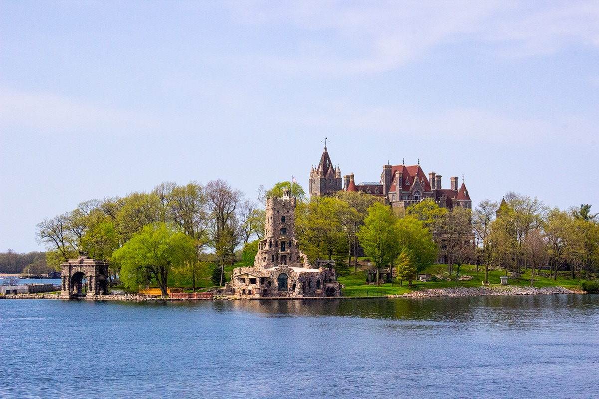 Boldt Castle on Heart Island 1000 Islands