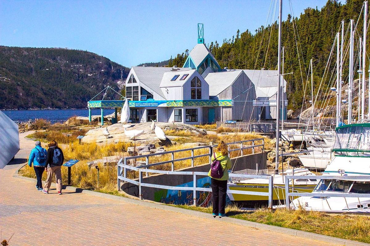 Marine Mammal Interpretation Centre Tadoussac Quebec
