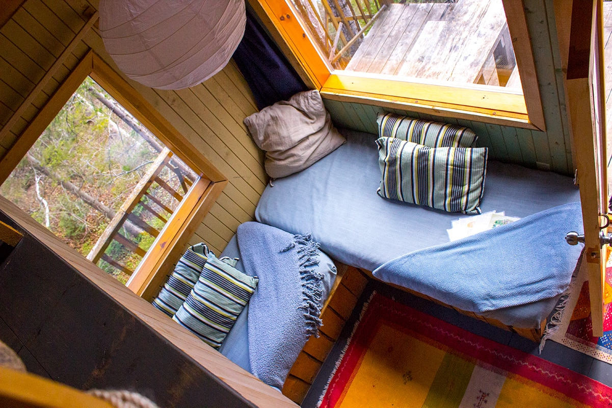Tree House Interior Canopee Lit