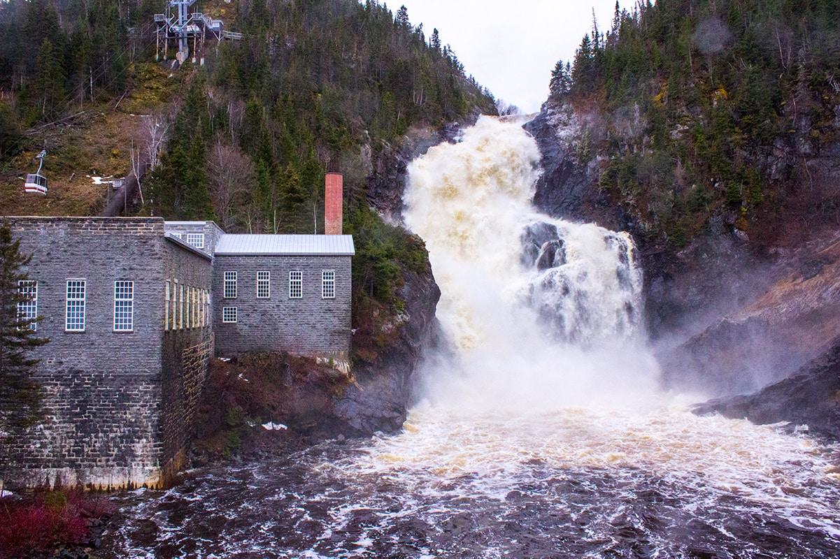 Val Jalbert Historic Company Town Falls Pulp Mill Girls Getaway