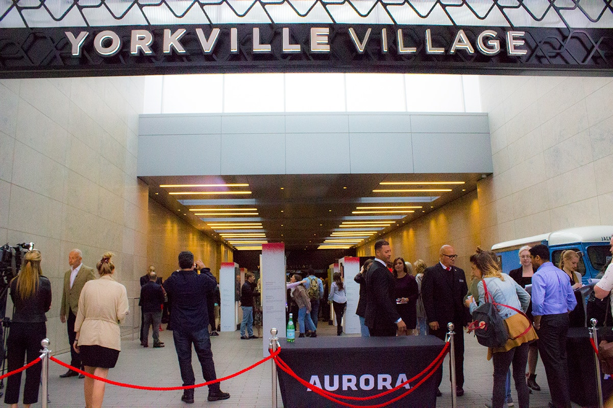 Yorkville Village Banksy Exhibition Toronto