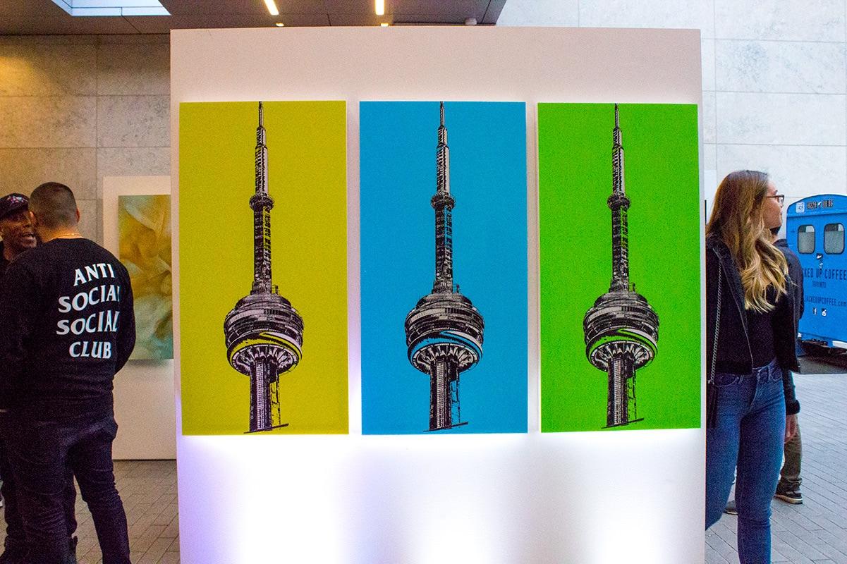 kevkav local Toronto Graffiti Artist CN Tower