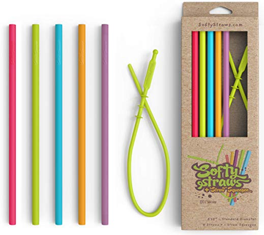 Reusable Straw - Silicone Softy Straw