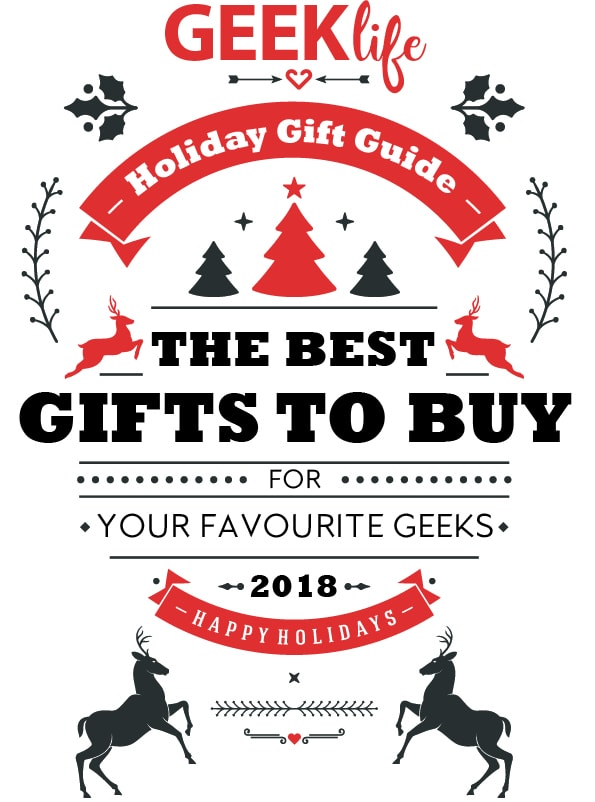 Geek Life's Best Holiday Gift Guide 2018 - #Technology, #Travel, #STEM & #STEAM, #Geek #Fashion - all the fun things to gift your favourite geeks for the holidays!