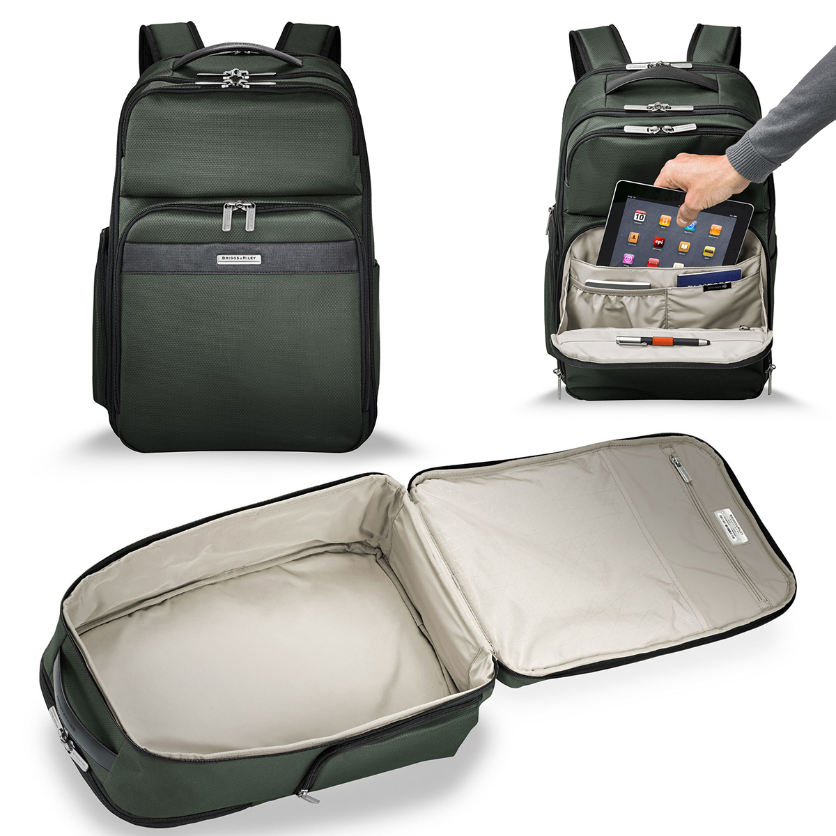 Briggs Riley TRANSCEND CARGO BACKPACK Travel Holiday Gift Guide