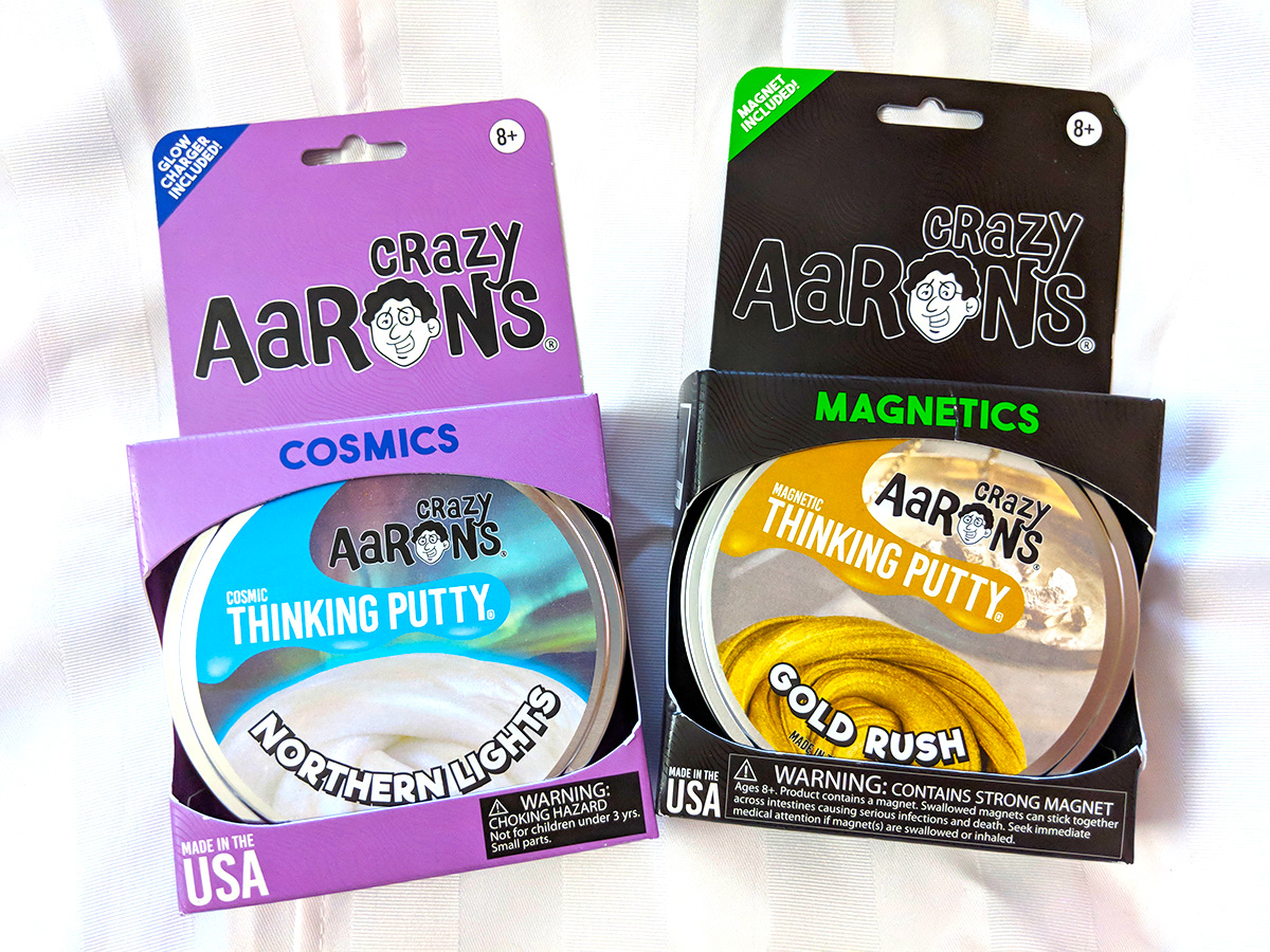 Crazy Aarons Thinking Putty STEM STEAM Gift Guide 2018