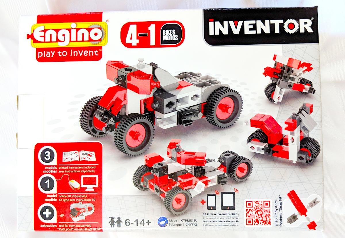Engino Inventor bricks STEM Holiday Gift Guide 2018
