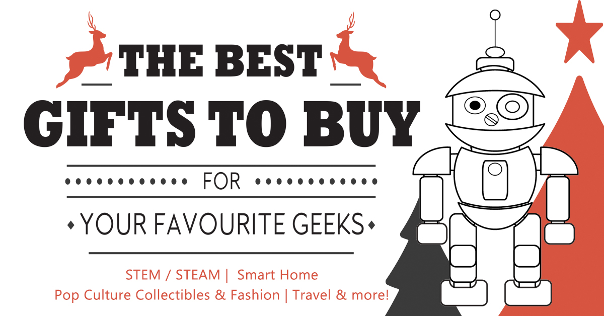 Best Gifts to Buy Geeks Holiday Gift Guide