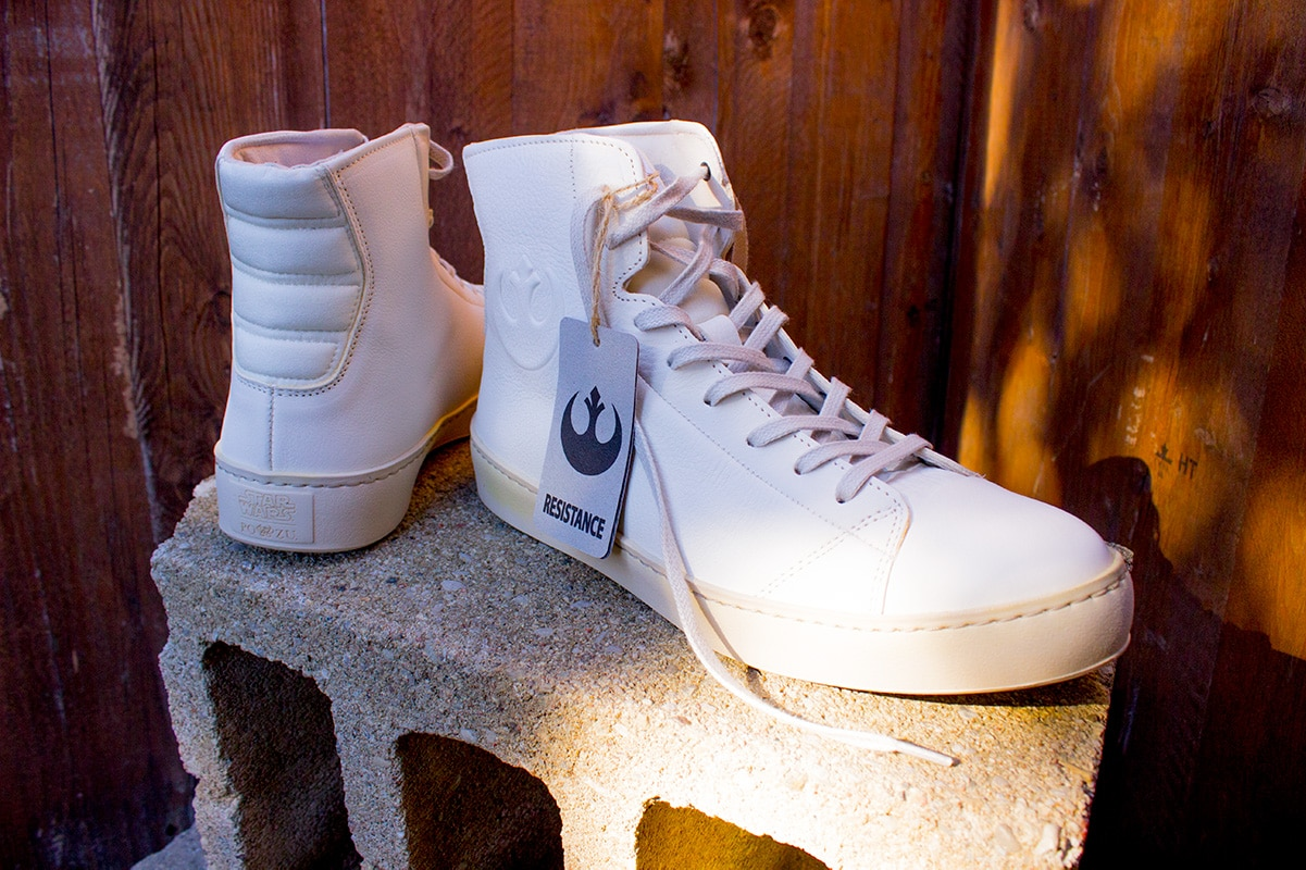Po-Zu Resistance White High Top Shoes Geek Holiday Gift Guide