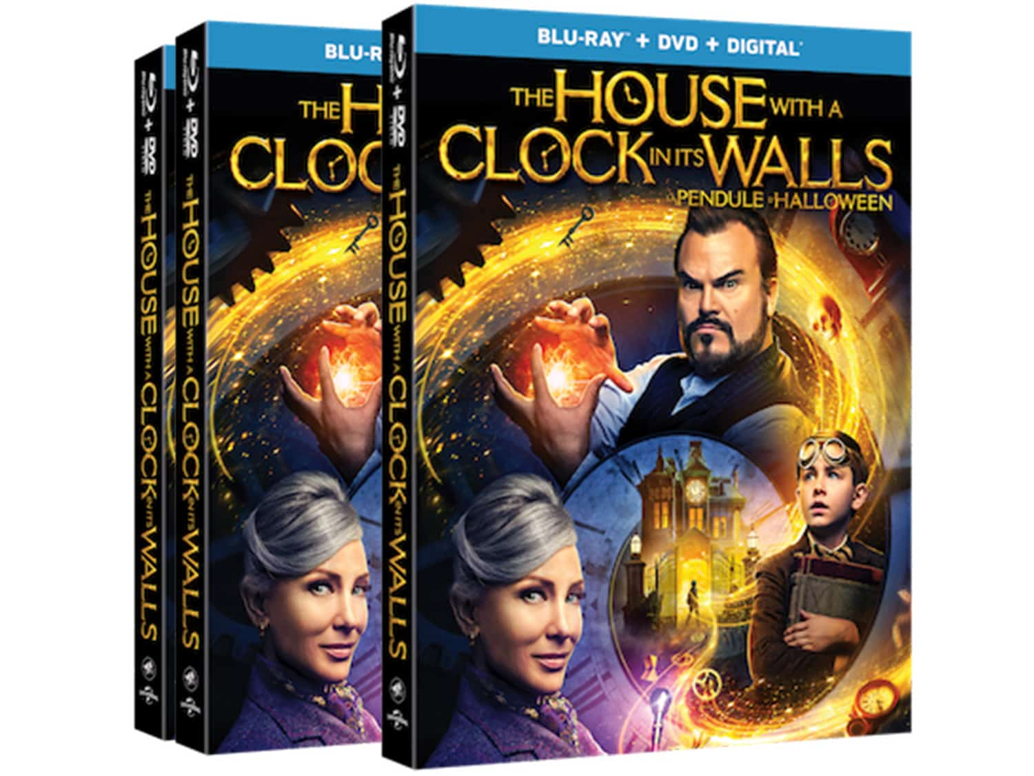 WIN The House With a Clock in its Walls DVD Blu-Ray