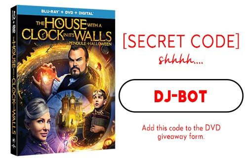 DVD Giveaway Secret Code 1: DJ-Bot