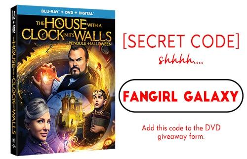DVD Giveaway Secret Code 3: Fangirl Galaxy