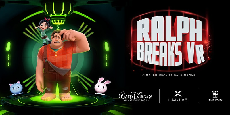 Ralph Breaks VR Game at the VOID in Rec Room Toronto