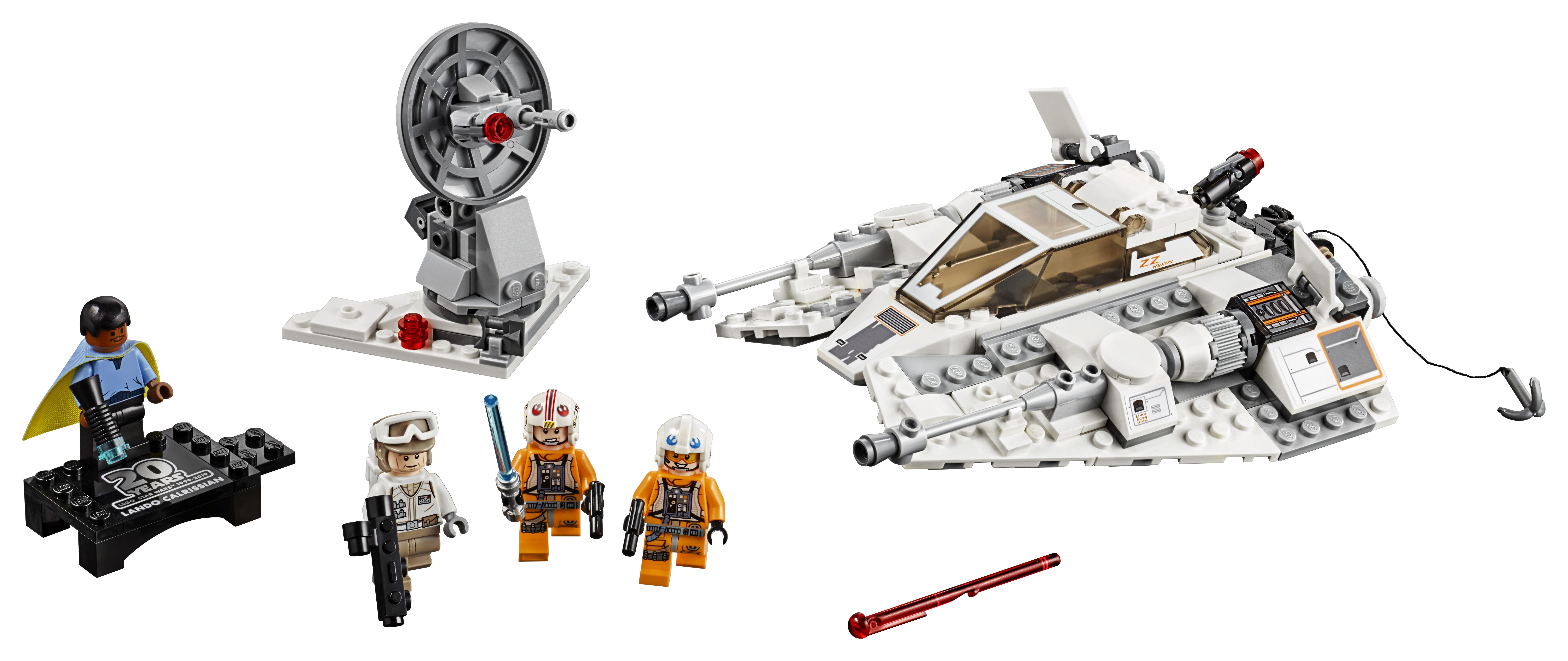 LEGO Star Wars: The Empire Strikes Back Snowspeeder – 20th Anniversary Edition