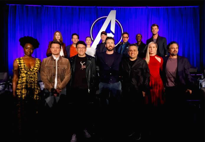 Avengers Endgame Cast - 10 Years of MCU