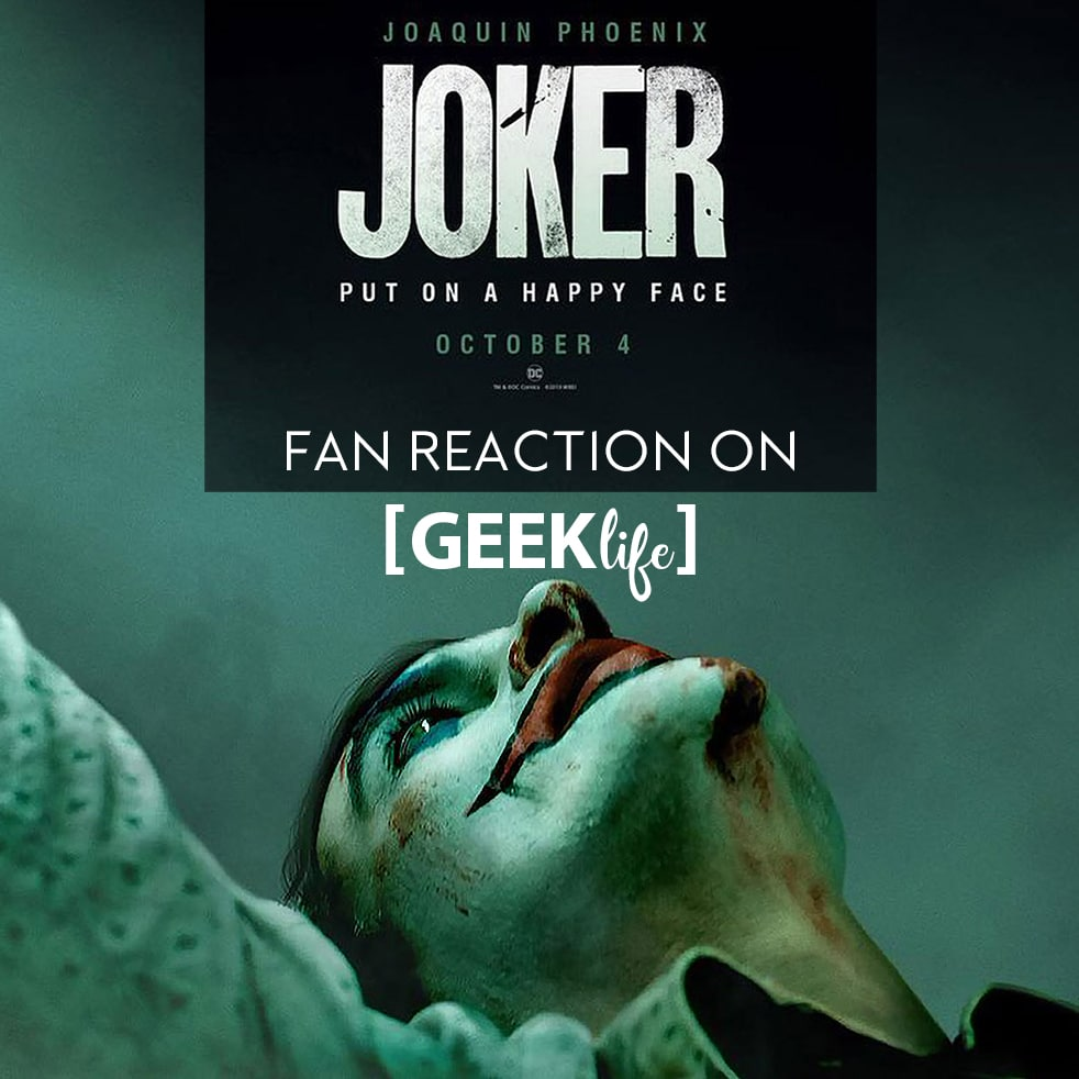 Joaquin Phoenix is the Joker 2019 fan reaction