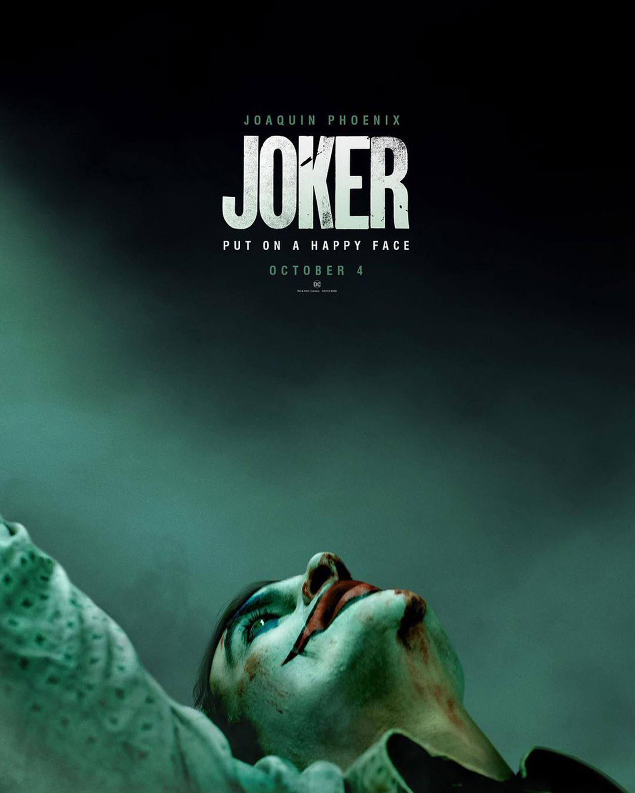 Joaquin Phoenix is the Joker 2019