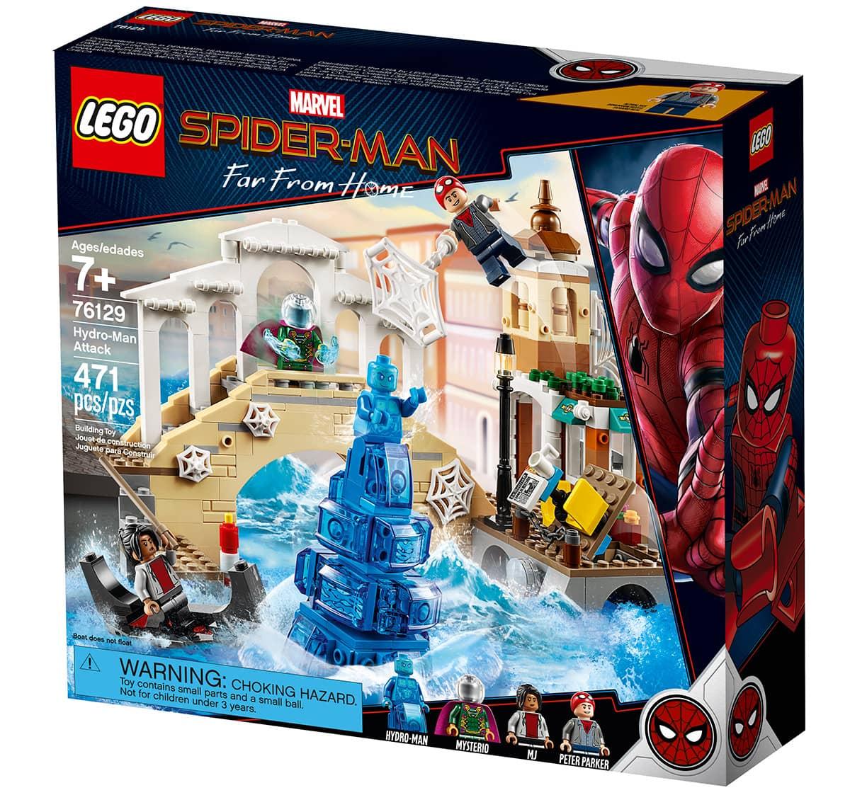 LEGO Spider-Man Hydro-Man Attack 76129