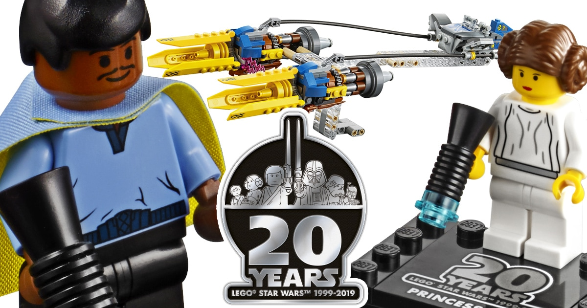 LEGO Star Wars Releases 20th Anniversary Editions