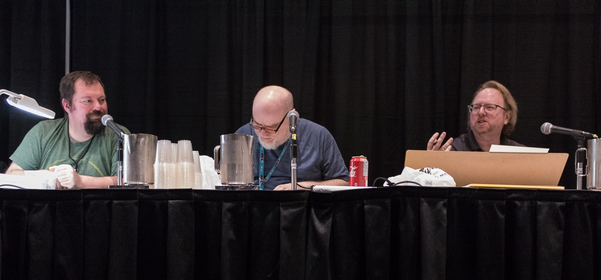 Ty Templeton and Leonard Kirk Sketch Duel at Toronto Comicon