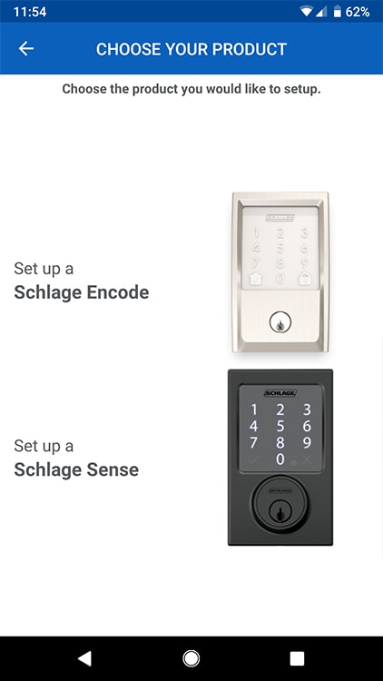 Schlage Home App Android Encode | Geek Life: Augmenting Reality