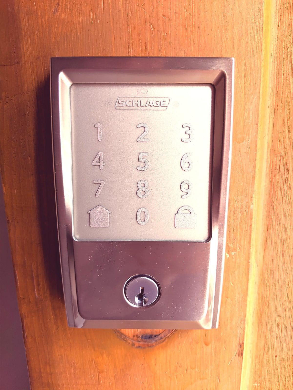 Have the brand new Schlage Encode door lock installed within about 30 minutes. No expertise required.