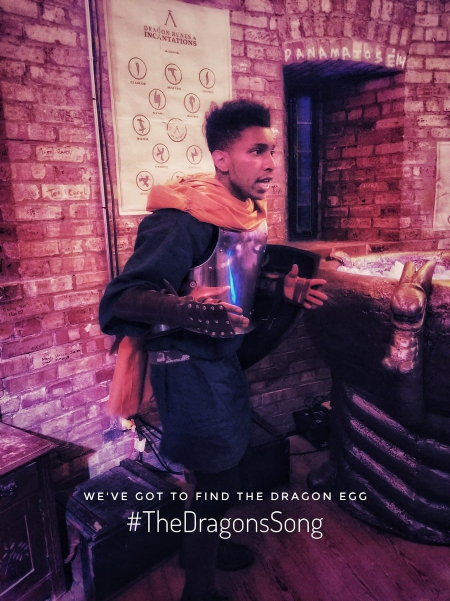 Escape Room The Dragons Song Knight | Geek Life: Augmenting Reality