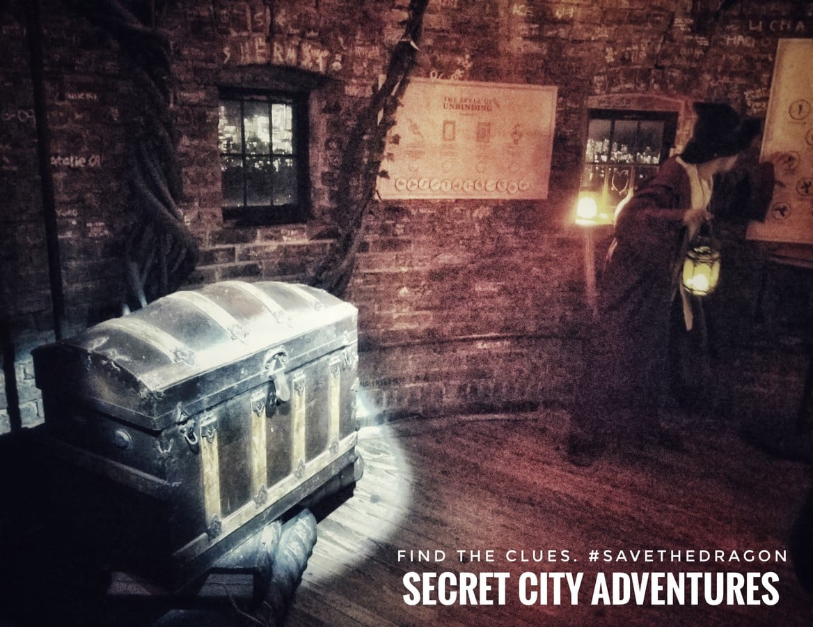 The Dragon's Song Escape Room at Casa Loma in Toronto
